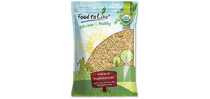 Food to Live Brown - Organic Basmati Rice