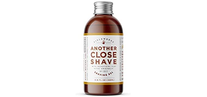 Fieldworks Another Close Shave - Natural Shave Gel