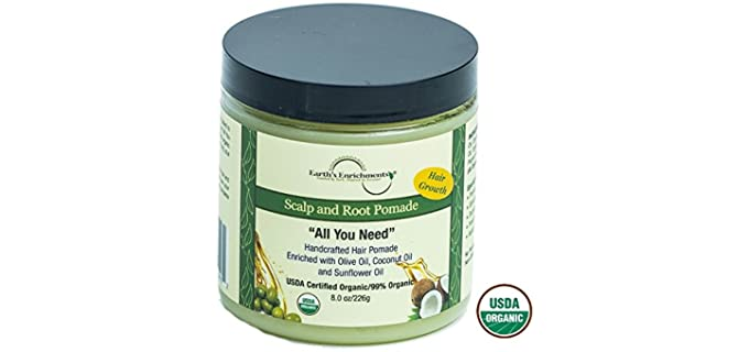 Earth's Enrichments Hair Growth - Scalp and Root Wax Pomade