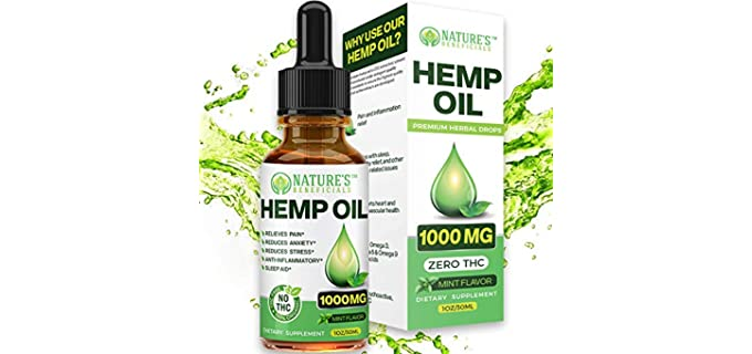 Nature's Beneficials Premium - Organic Hemp Oil