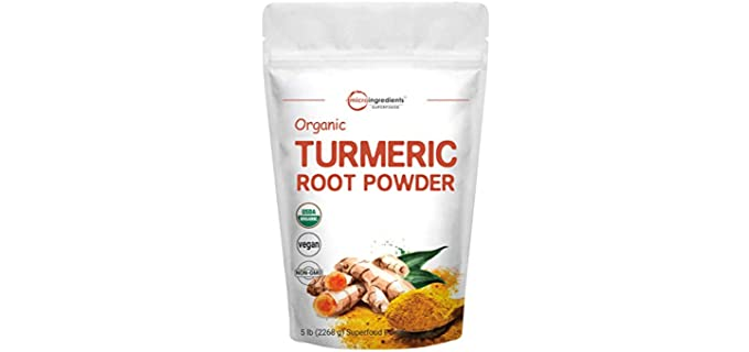 Micro Ingredients Concentrated - Organic Antioxidant Turmeric Powder