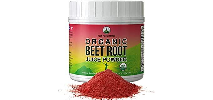 Peak Performance Cleansing - Pure Organic Beet Powder