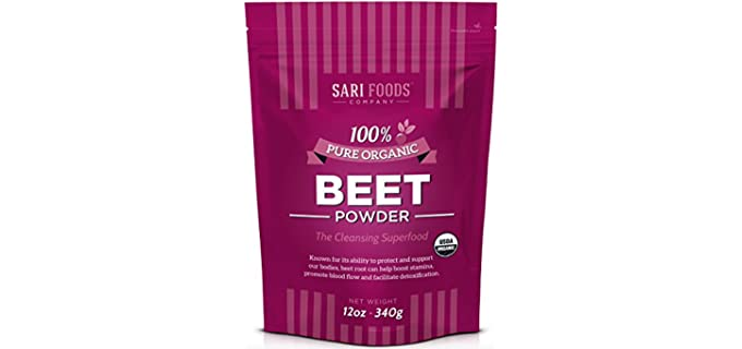 Sari Foods Co Vegan - Organic Creamy Beet Powder