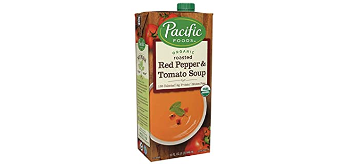 Pacific Natural Foods Creamy - Organic Tomato Pepper Soup
