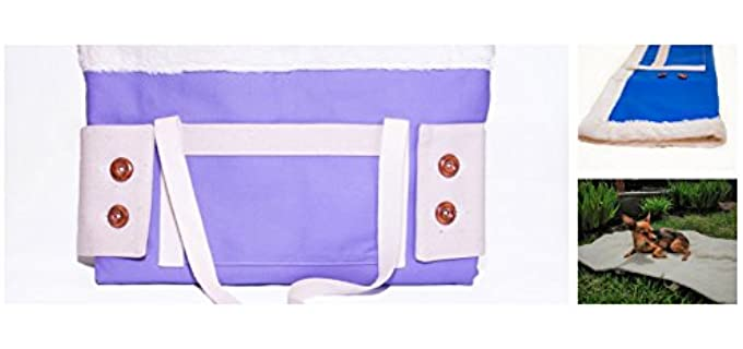 Petsetter Sleeper Tote Travel - Organic Bed Blanket