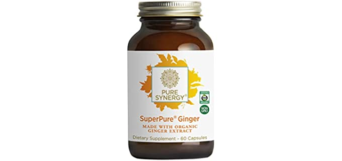 Pure Synergy SuperPure - Organic Ginger Extract