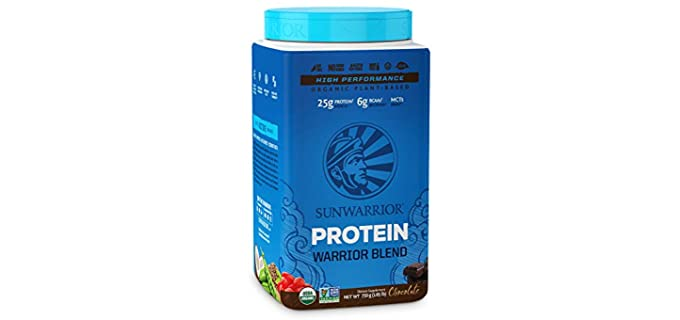 Sunwarrior Warrior Blend - Organic Vegan Protein Powder