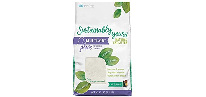 Sustainably Yours Natural - Multi-Cat Litter
