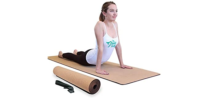 The Green Polly Cork - Organic Yoga Mat