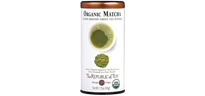 The Republic of Tea Japanese - Organic Matcha Green Tea Powder