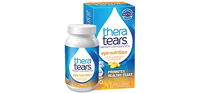 Thera Tears Omega 3 - Organic Fish Oil Supplement
