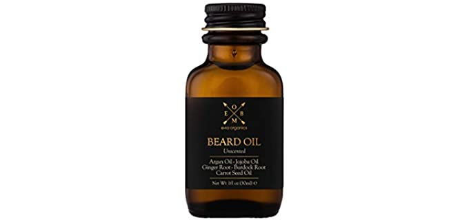 Era Organics Unscented - Organic Beard Oil For Men