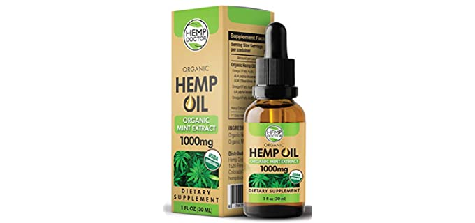 Hemp Doctor Relieving - Organic Hemp Oil Extract