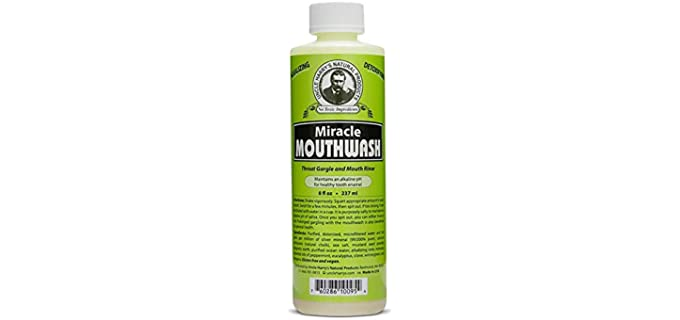 Uncle Harry's Alkalizing - Natural Miracle Mouthwash