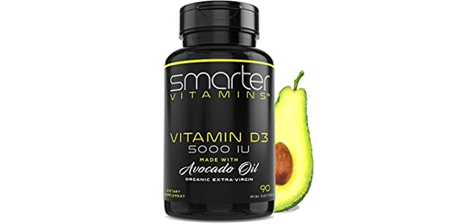 SmarterVitamins Soy-Free - Organic Vitamin D3