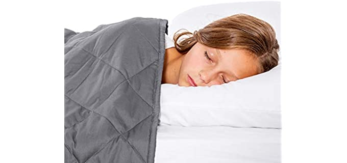 WeeSprout Breathable - Weighted Organic Blanket