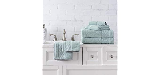 Welhome Hudson - Organic Cotton Bath Towel Set