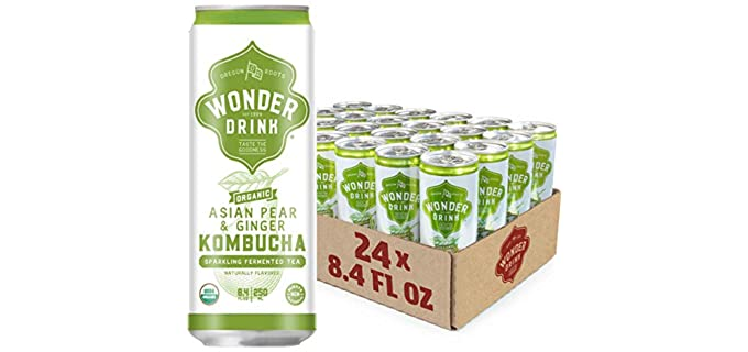 Wonder Drink Fermented - Asian Pear and Ginger Kombucha