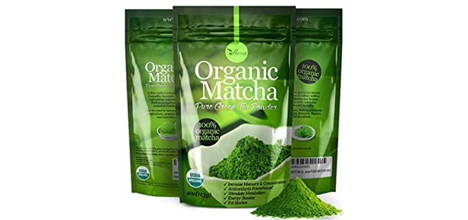 uVernal Pure - Organic Matcha Green Tea