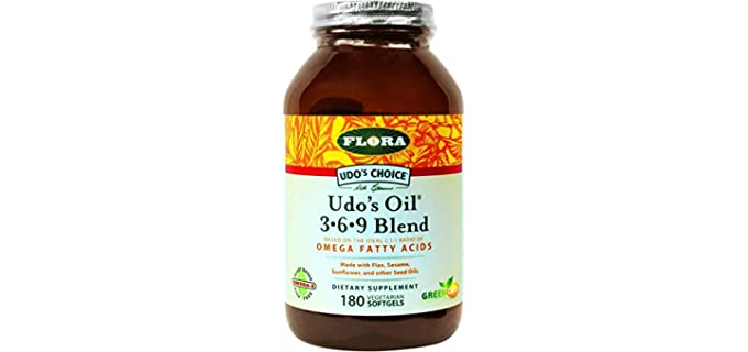 Flora 3-6-9 Blend - Organic Joint Support Oil