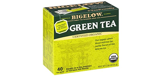Bigelow Tea Classic - Caffeinated Organic Green Tea