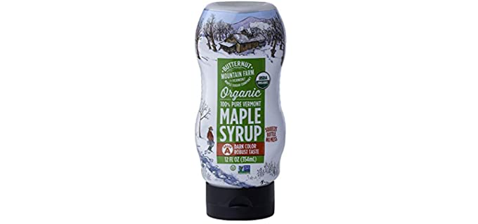 Butternut Mountain Farm Pure - 100% Organic Maple Syrup