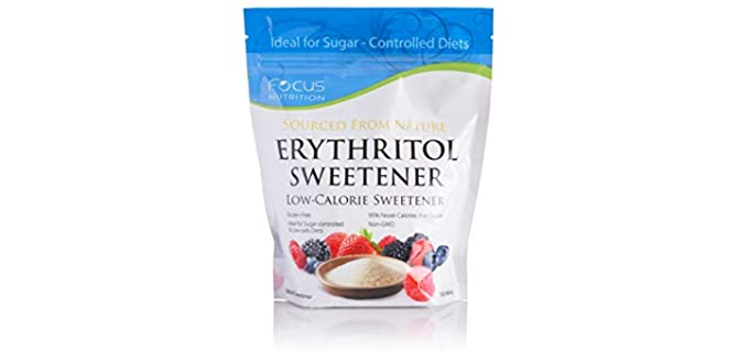Xyloburst Focus Nutrition - Natural Erythritol Sweetener