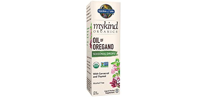 Garden of Life mykind - Organic Oil of Oregano