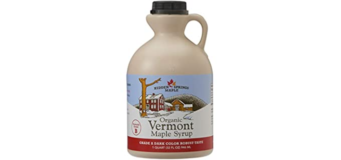 Hidden Springs Maple Vermont - Organic Maple Syrup