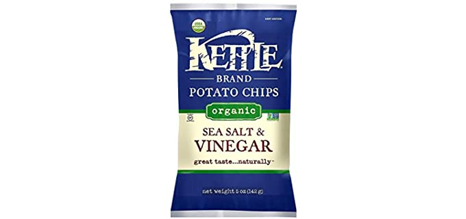 Kettle Brand Sea Salt & Vinegar - Organic Potato Chips
