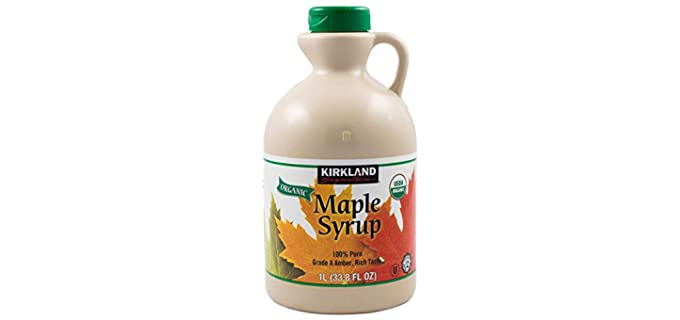 Kirkland Signature Pure - Organic Maple Syrup
