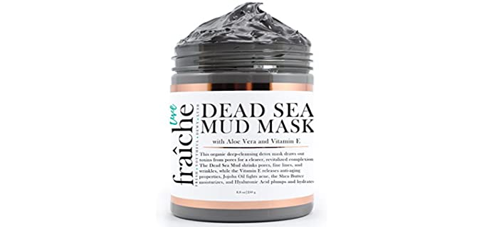 Live Fraiche Facial - Organic Dead Sea Mud Mask