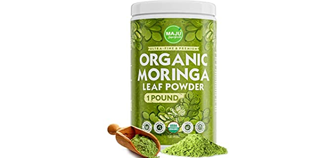 Maju Superfoods Ultra-fine - Organic Moringa Powder