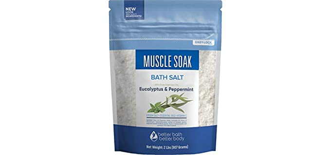 Better Bath Better Body Relaxing - Muscle Soak Epsom Salt
