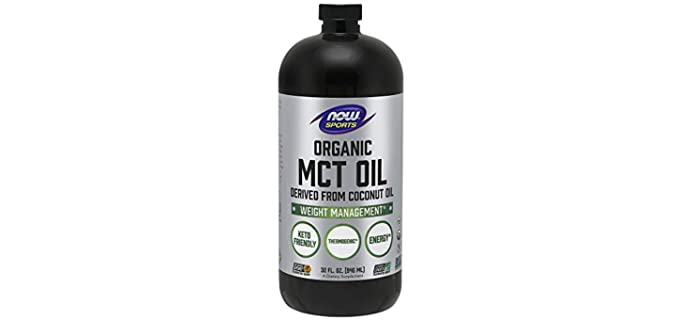 NOW Foods Sports Nutrition - Organic MCT Oil
