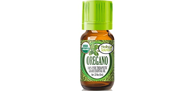 Healing Solutions Pure - Organic Oregano Essential Oil