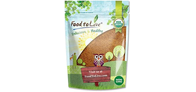 Food to Live Raw - Organic Cacao Powder