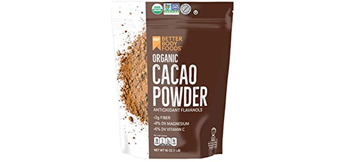 BetterBody Foods BBF - Organic Cacao Powder