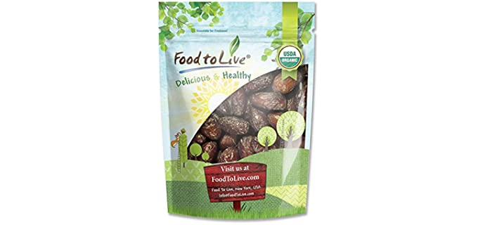 Food to Live Raw - Organic Medjool Dates