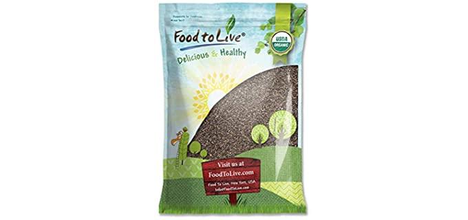 Food to Live Black - Organic Chia Seeds