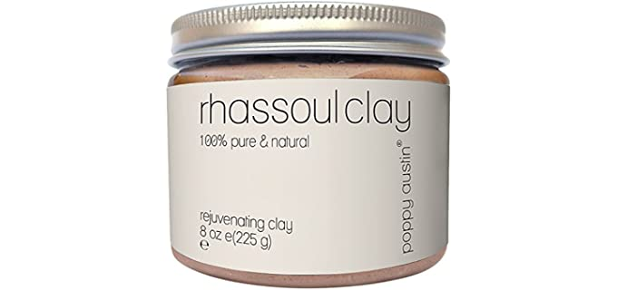 Poppy Austin Clay Mask - Organic Rhassoul Clay Powder