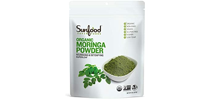 Sunfood Superfoods - Organic Moringa Powder