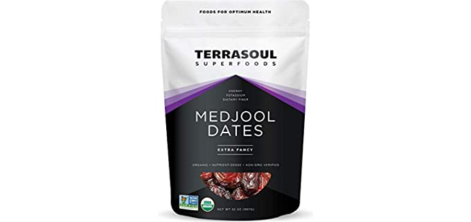 Terrasoul Superfoods Extra Fancy - Organic Medjool Dates