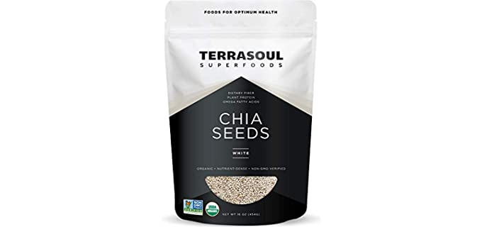 Terrasoul Superfoods White - Organic Chia Seeds