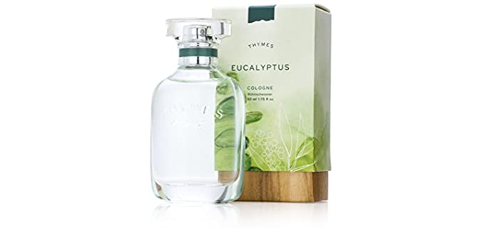 Thymes Eucalyptus - Organic Natural Cologne
