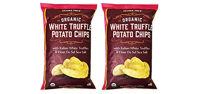 Trader Joe's White Truffle - Organic Potato Chips