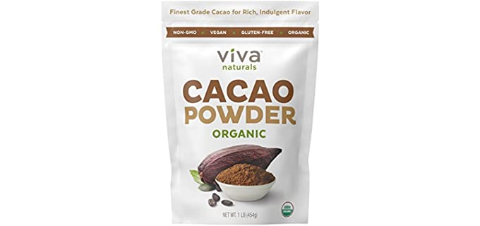Viva Naturals Finest - Organic Cacao Powder