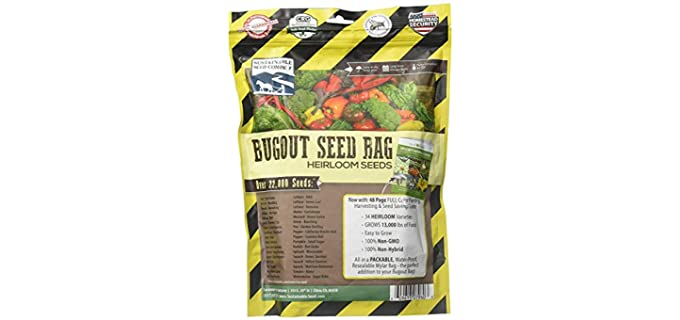 Sustainable Seed Company Full Size - Blended Organic Beetroot Sprouting Seeds