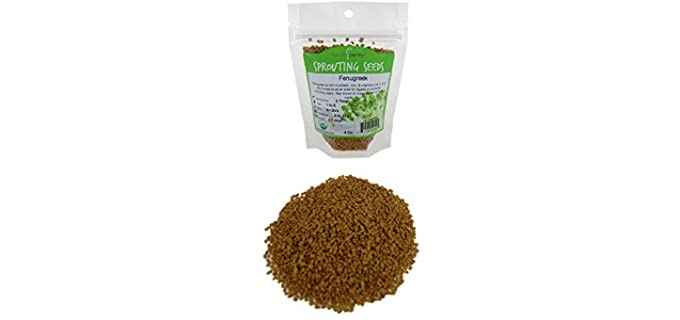 Handy Pantry 4-OZ - Organic Flavored Fenugreek Sprouting Seeds