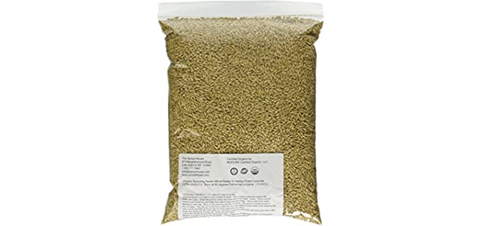The Sprout House Resealable - Organic Whole Barley Sprouting Seeds
